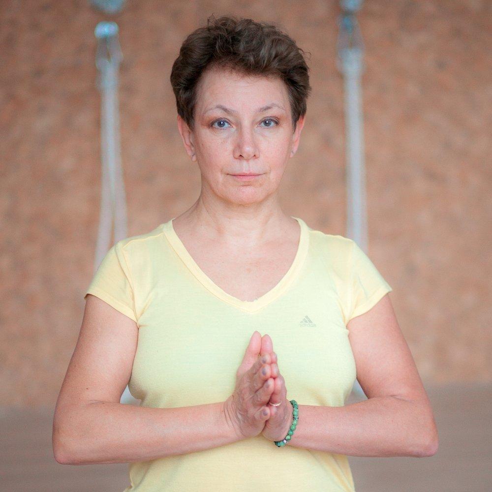 Ольга Гордеева, профессиональный преподаватель йоги Айенгара в нашем центре Йога Практика Нижний Новгород