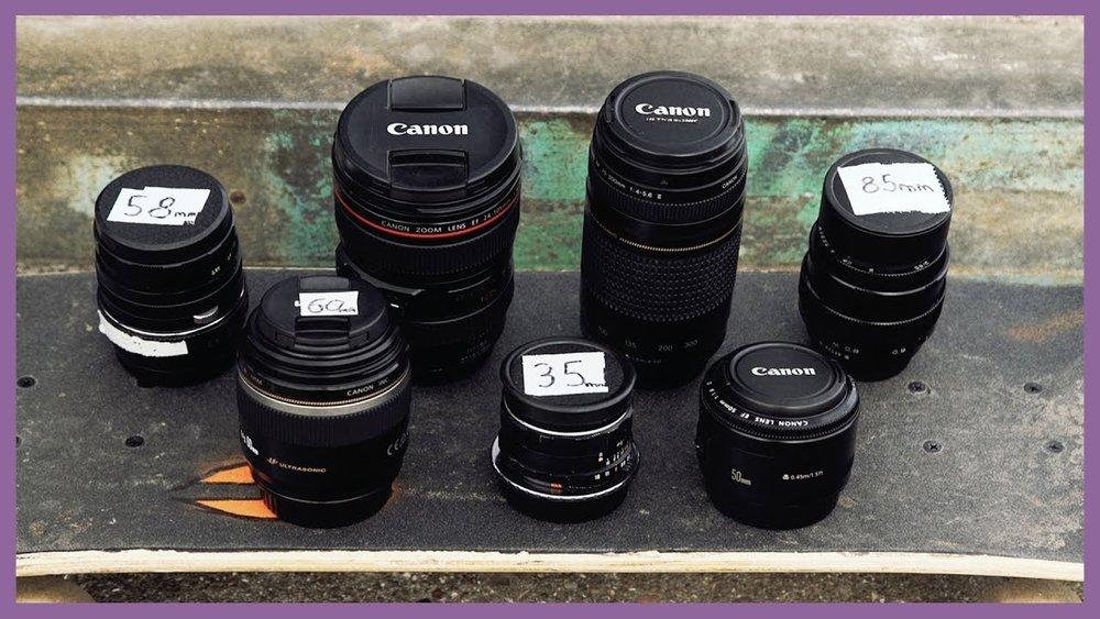 8 Filmmaking Lenses from $50-$500