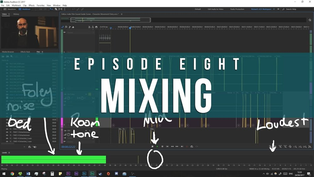 Mixing  Episode 8 Indie Film Sound Guide