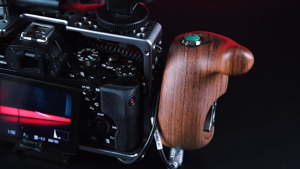 Sony a7s Tilta Cage and Wooden Handle.jpg