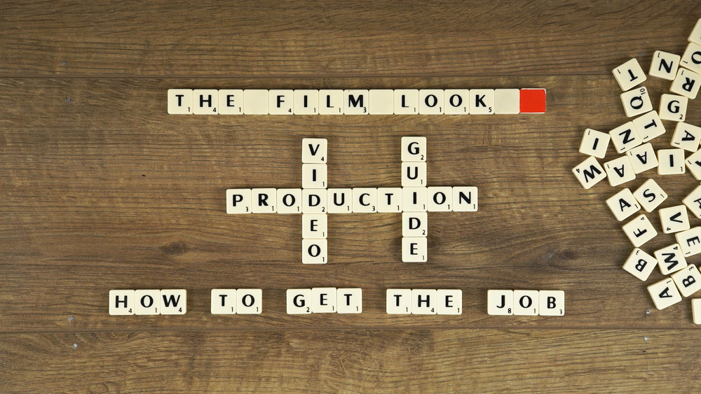 Video Production - How to get the job.jpg