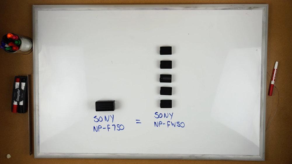 NPF Batteries Vs Sony A7s Battery