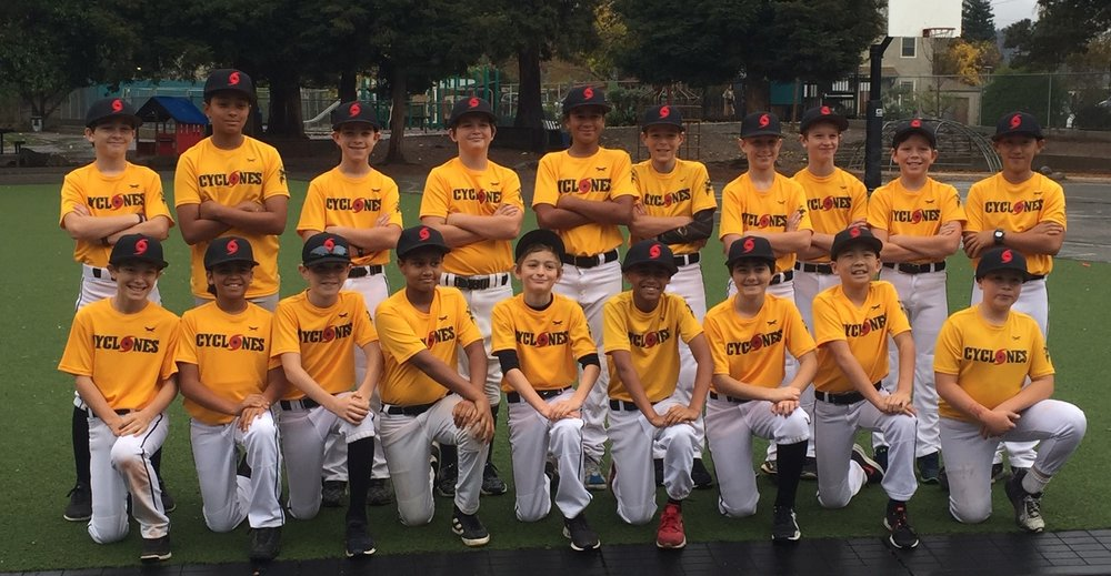 The 12U East Bay Cyclones is a great group of baseball players comprised of individuals from various East Bay communities including Berkeley, El Cerrito, Kensington, Albany and Richmond.