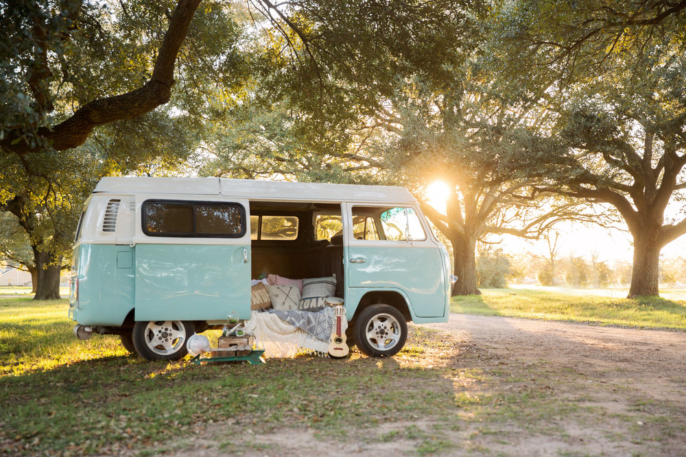 About Frankie - Hi I'm Frankie, a classy Southern Belle, oh and yes I'm a 1970 VW camper bus. I've lived a long life as a Westfalia camper, under starry nights and long road trips, but no stars are as big and bright as they are deep in the heart of Texas. So, I made it my home to make great friends and long lasting memories. After a lil make-over, fresh paint and a custom photo booth, I am ready to continue my journey and be the life of your party!