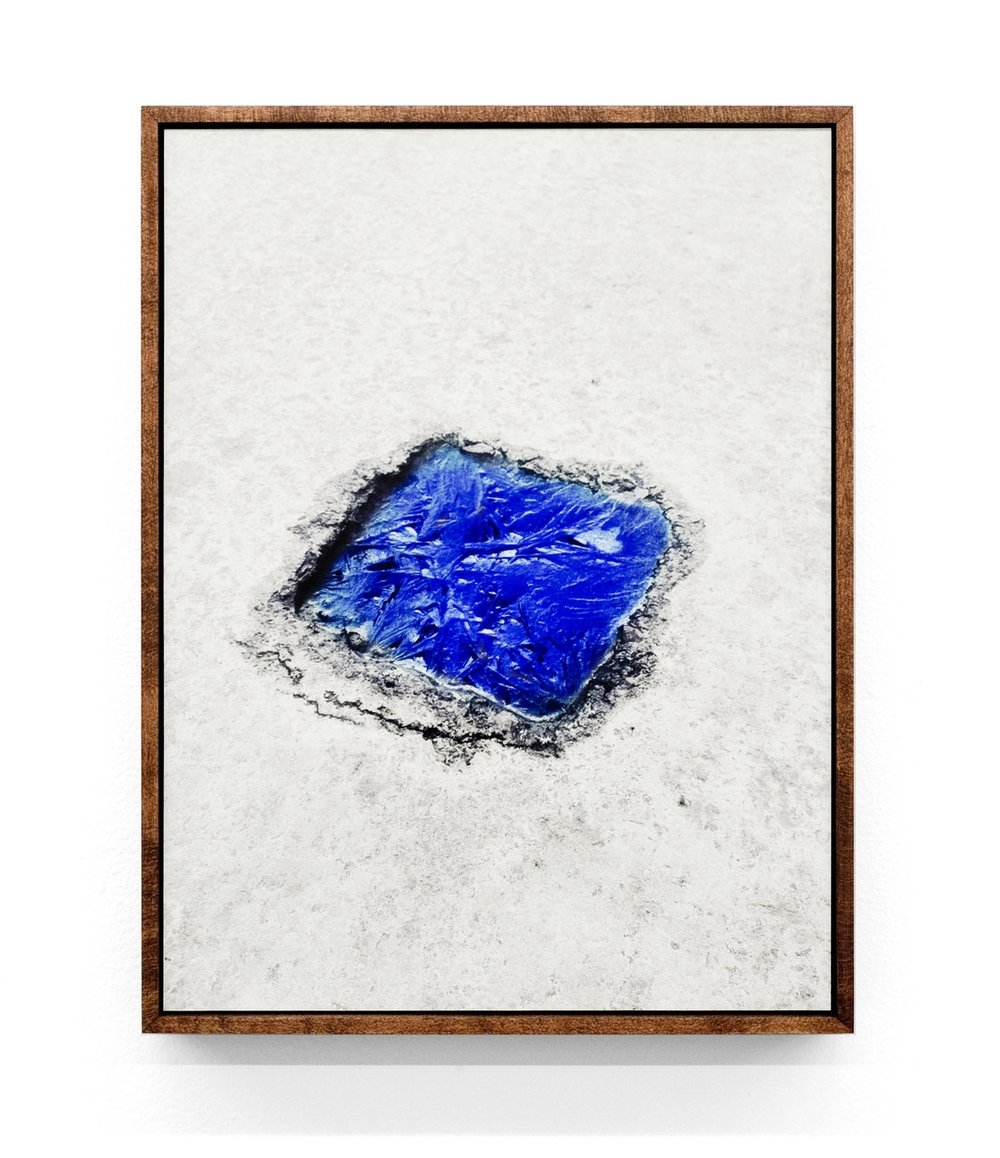 Intrusion (Frozen Puddle), 2015