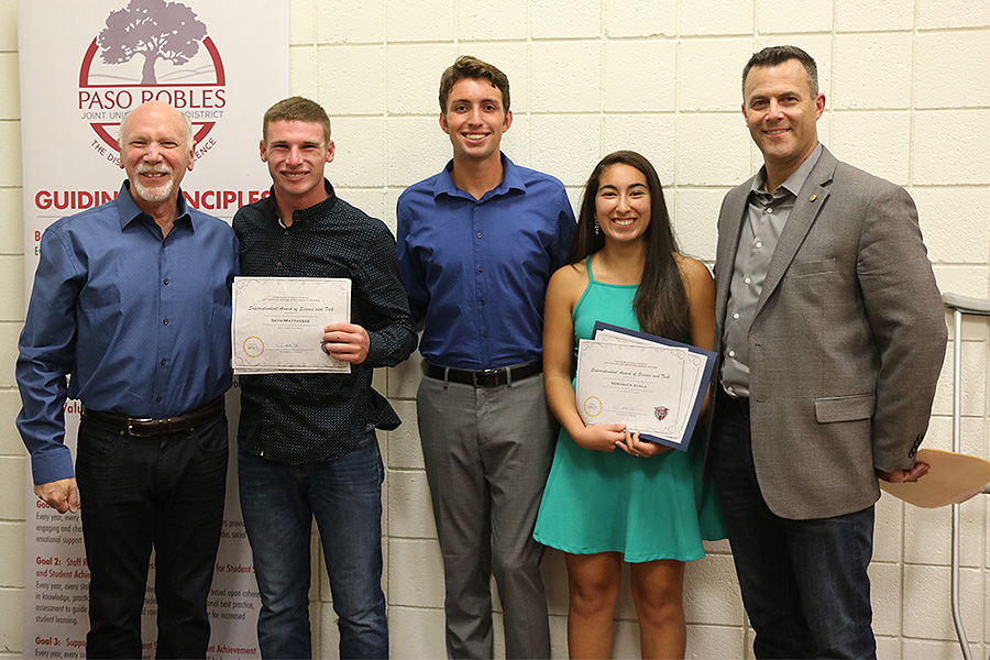 Owners, Stephen and Randal, supporting the sciences with our 2017 Annual Scholarship Program recipients. Oxigenesis has committed over $45,000 to local high school seniors since 2015.