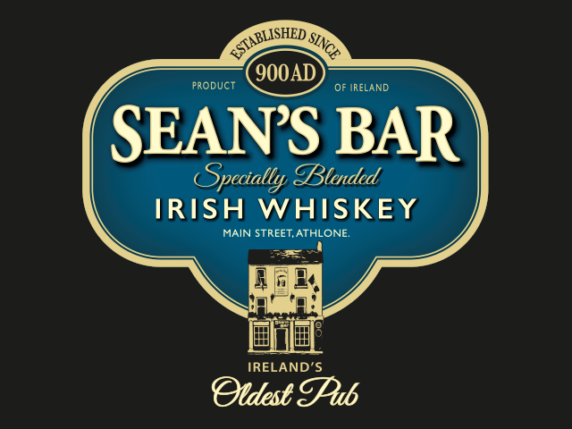 As Ireland's oldest pub and with over a thousand years of history SEAN'S BAR have crafted THEIR own unique blend of grain and malt whiskey. -