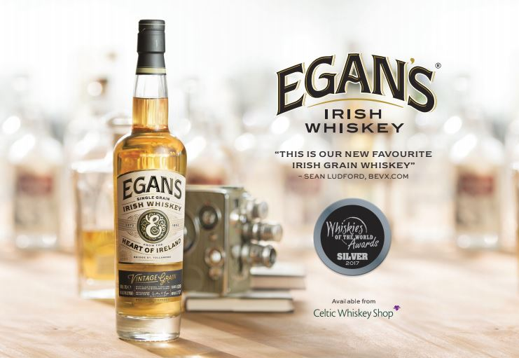 Egan's 10 Year Old Single MalT & Egan's Vintage Grain are a celebration of the extraordinary industry and endeavour of their forefathers from tullamore. -