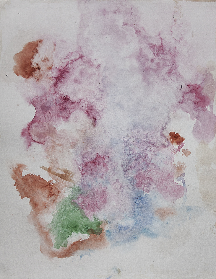 cloud, 2016 | watercolours on paper, 35x27 cm
