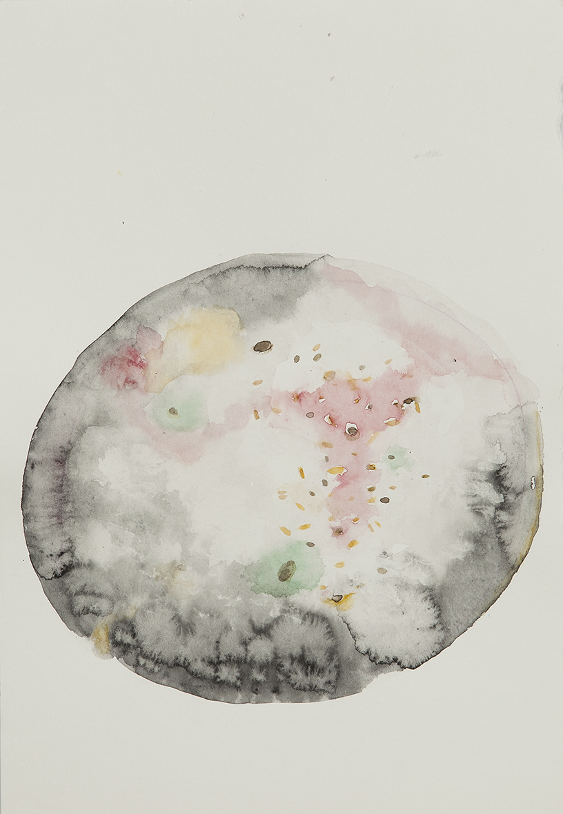 mould study, 2017 | watercolours on paper, 25x18 cm