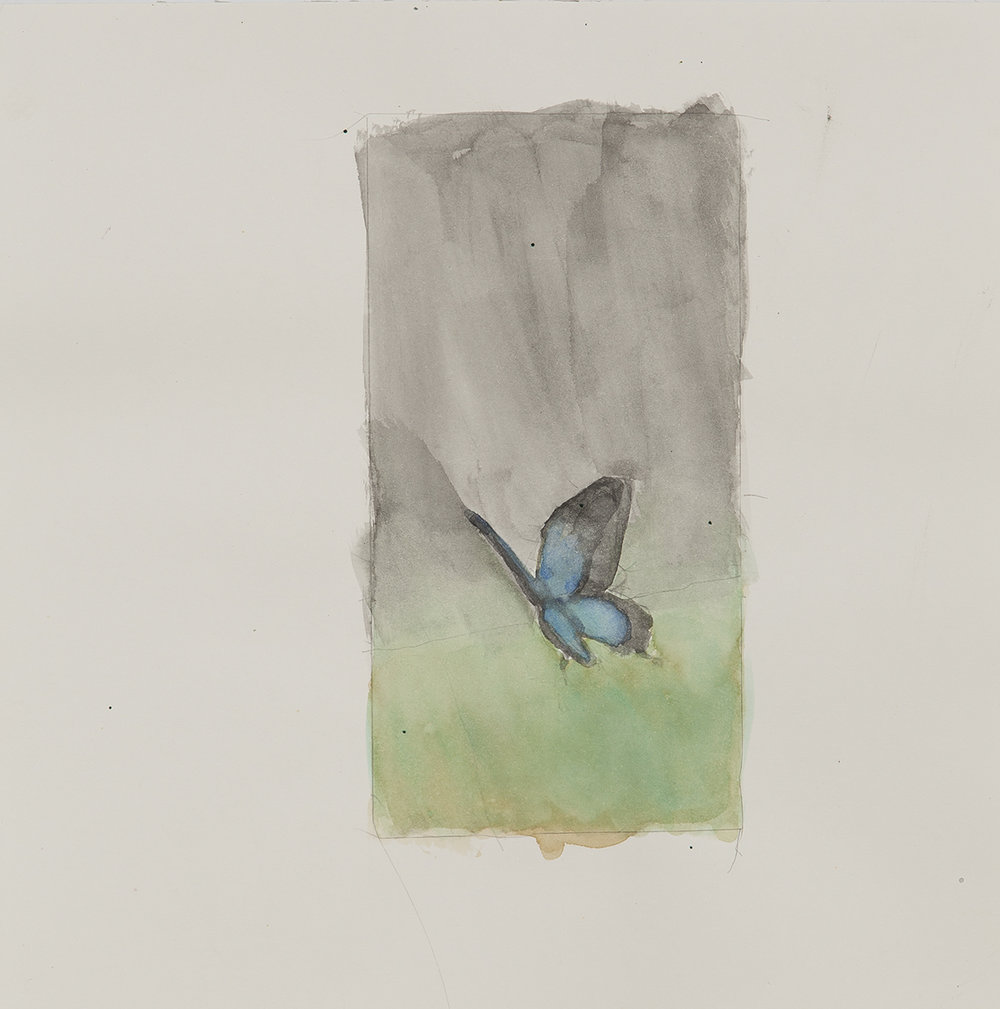 untitled, 2014 | watercolours on paper, 25x25 cm