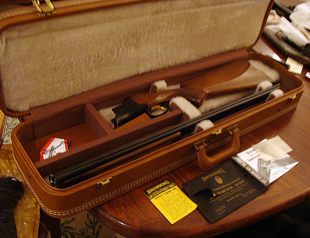 Browning Superposed with Case
