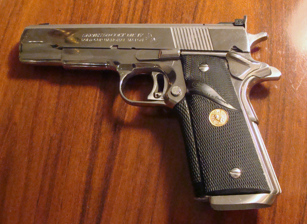 Colt 1911 Gold Cup National Match gone thru by the Custom Shop at Cold Series 80