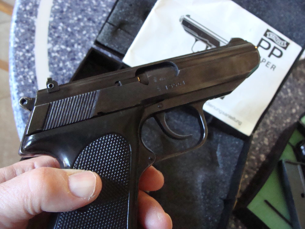 Walther PP Super Pistol