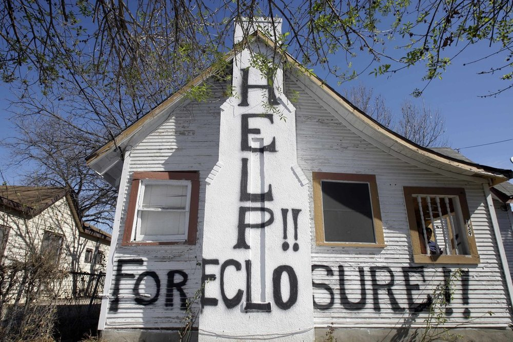 A house facing  foreclosure in New Jersey .