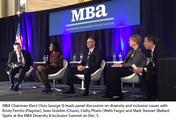 Scanlon's Husband and Ballard Spahr Chair Mark Stewart at the Mortgage Banker's  Association's Diversity and Inclusion Summit ( Source )