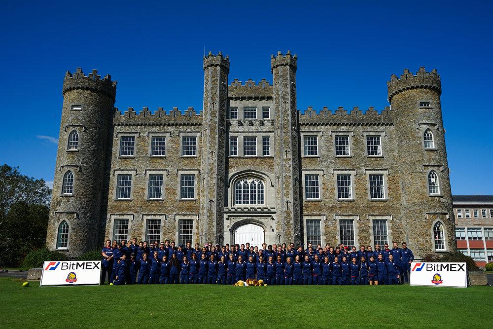 The GB squad during the British & Irish Cup