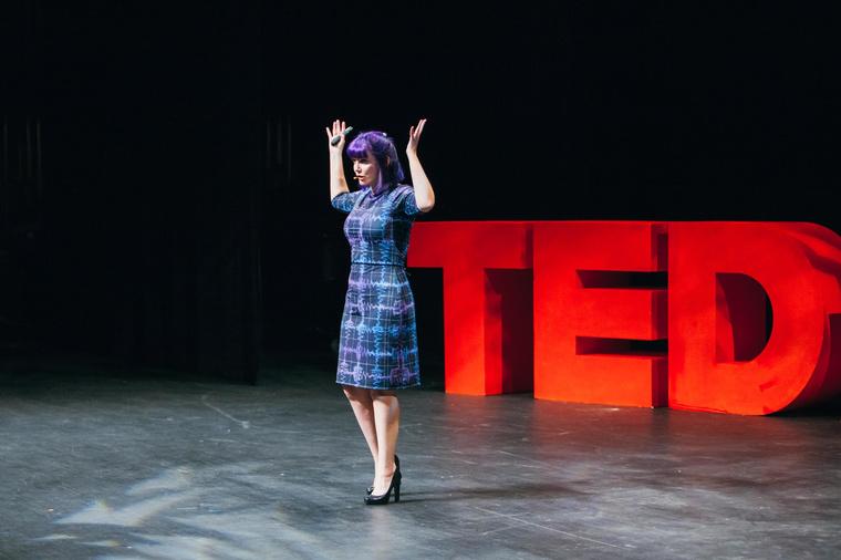 Dr. Holley-Bockelmann speaking at TedX Nashville
