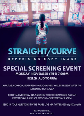- Straight/Curve: Redefining Body Image (2017)Straight/Curve examines the fashion industry and the obstacles responsible for our current body image crisis. It showcases the dynamic leaders fighting for more diversity of size, race and age.