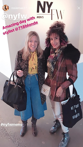 - Going to Men's Fashion Day with Contributing Fashion Editor, Rose TurnerInstagram:@rosiemae27