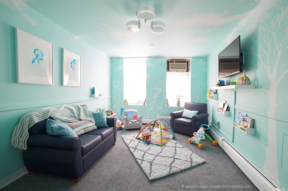 Paintings and interior design by  Michael and Viktorija Adams  Photo by  Michael David Adams