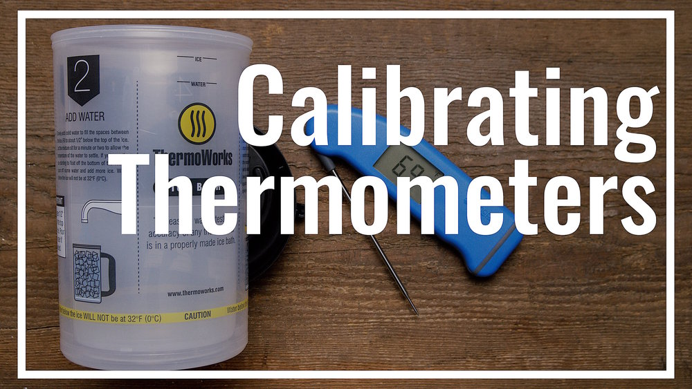 Calibrating a Kitchen Thermometer — Le Gourmet TV
