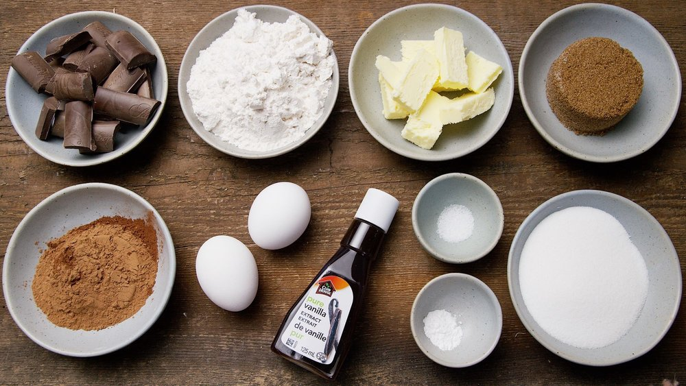 Easy Ingredients... - Brownies from scratch are so good!