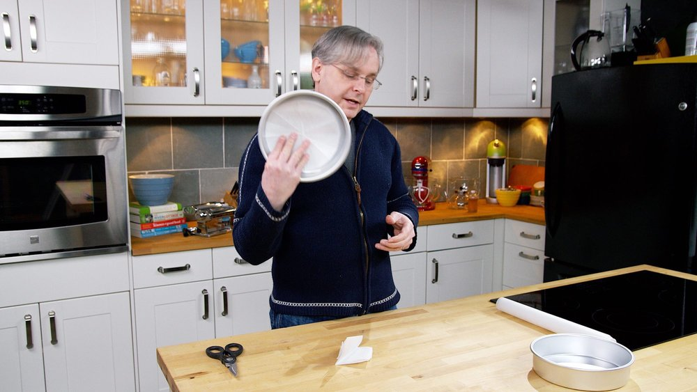 Don't sweat it.   This is a super easy task!  Glen will show you just how easy it is - after you watch the video it will take you less than 30 seconds to master this simple kitchen essential.