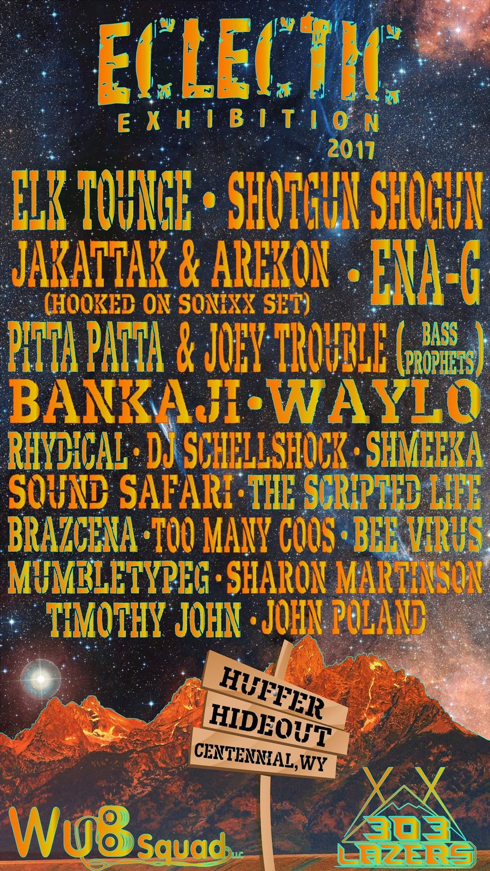 2017-08-16 Eclectic Exhibition Music Festival Poster Centennial Wyoming.jpg