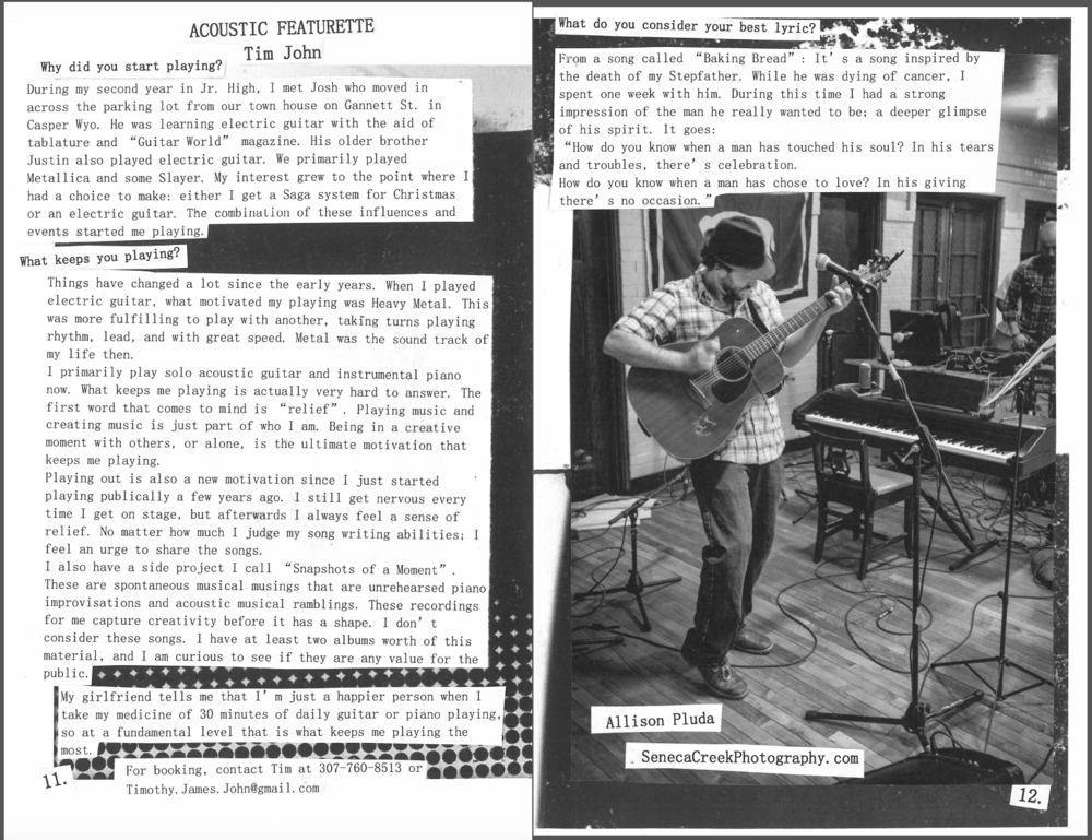 2015 April, Laramie Zine Acoustic features my photo of musician Timothy John.png