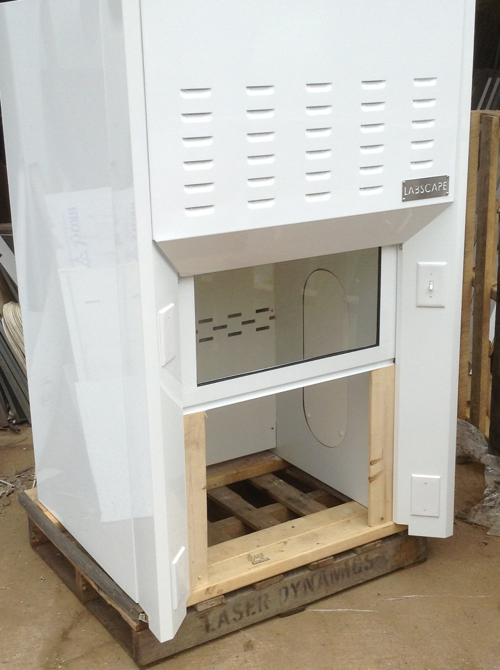 Labscape Fume Hood for Crane Aerospace