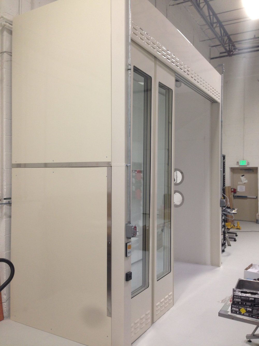 Whiting School of Engineering Customized Fume hood