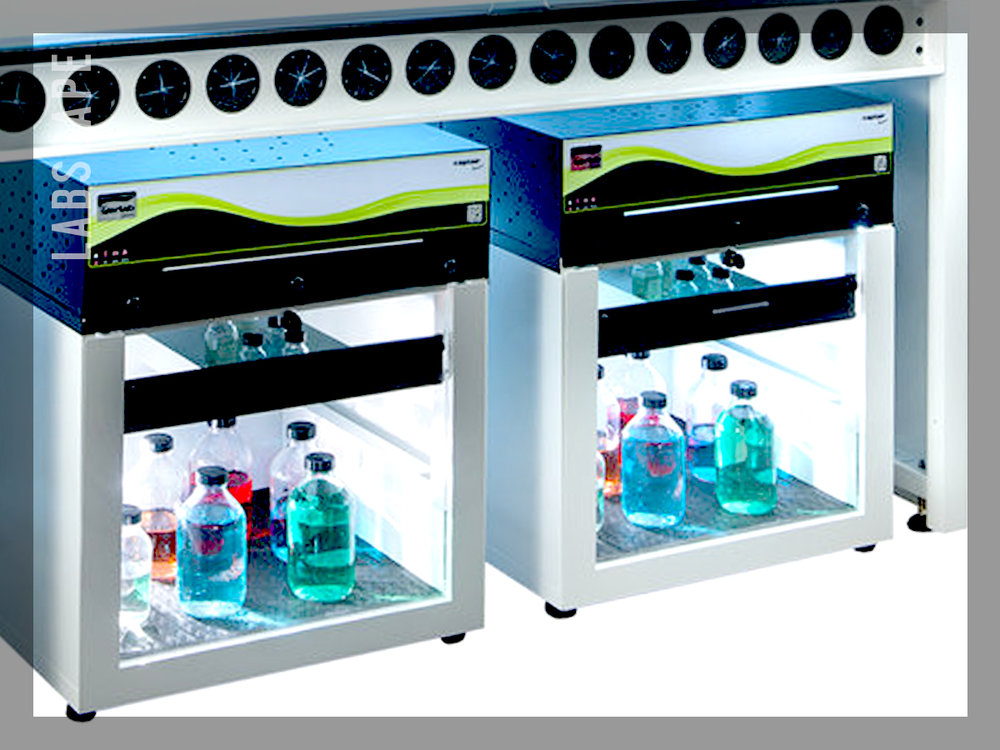 FILTERED CHEMICAL STORAGE CABINETS -