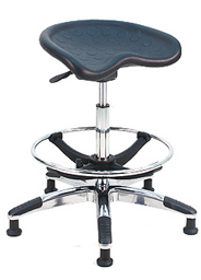 FIRMFLEX LAB STOOL - Fixed Style Aluminum Base