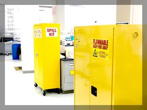 FLAMMABLE sTORAGE CABINETS -