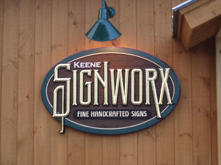Keene Signworx sign
