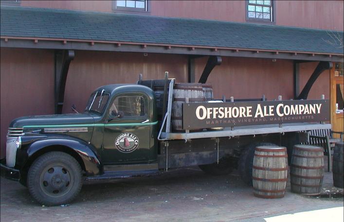 Offshore Ale Company truck