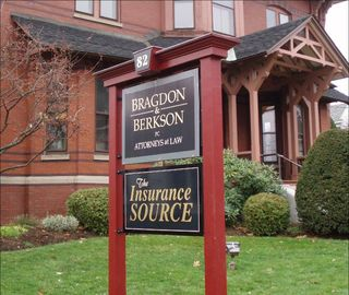 Bragdon & Berkson Attorneys at Law new sign