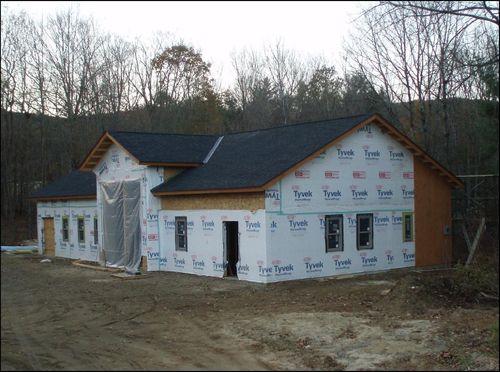 New Shop progress week of 11-7-2011