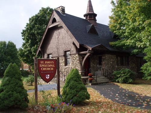 This is a charming Episcapol Church in Walpole NH. we made a sign for.