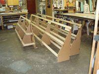 wood awning frames