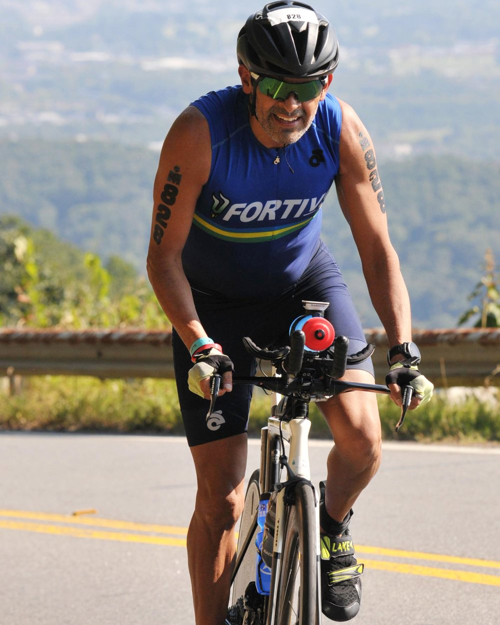 Fortius Coach Gerardo earned his 3rd trip the the 70.3. World Championship.