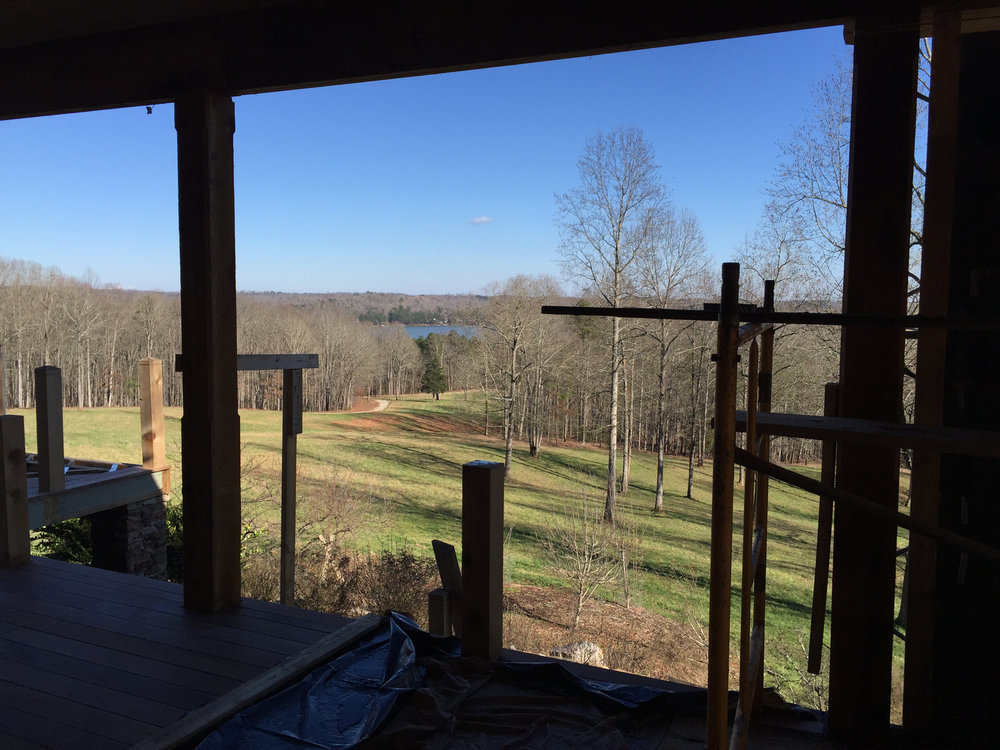 Lake Hartwell Renovation - Exterior Covered Porch Addition