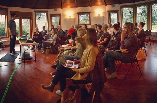 #TBT to our first Victoria #tinyhouse course last winter, at the cozy Roundhouse Farm. We love bringing  communities together for education, fun and tons of learning. Join one  of our courses today! Next up: Vernon (Jan 11-13), Comox (Jan 18-20) and  Robert's Creek (Feb 9-10). #tinyhomes #tinyhouse #dwelling #buildsmall #sustainable #PNWlife #building #planning #dreaming #tinyhomes #housing #urbanplanning #nextgen #buildsmart #efficiency #THOW #yyj #comoxvalley #okanagan #community #design #interiordesign