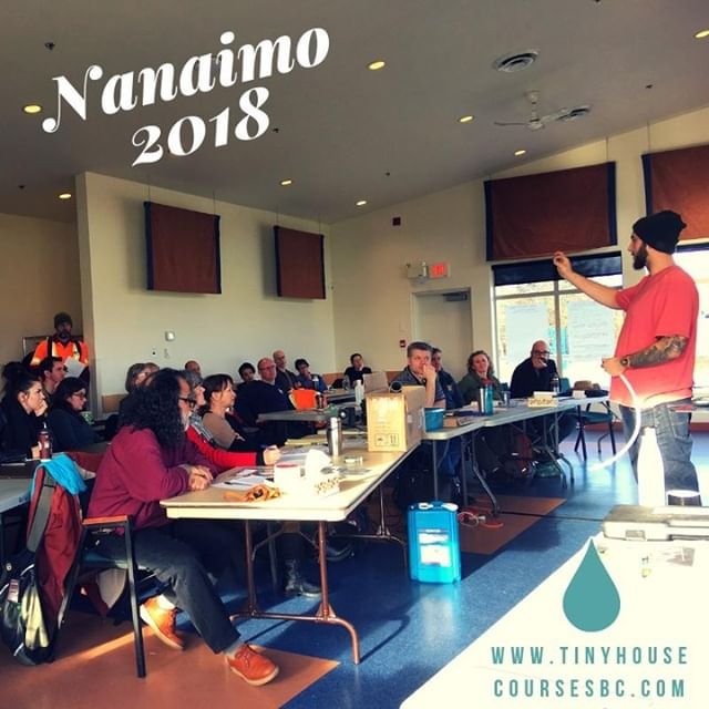 We often have building experts or pros in the #trades join us in our weekend fountation classes to bring their expertise. In our #Nanaimo weekend workshop (2018), #plumber Lucas Vallevand, who did the plumbing for @KentonZerbin's #tinyhouse, taught us a bit about #waterconservation and #DIY #plumbing! It was awesome! It makes us SOOOOOO happy to partner with #experts in their field to bring you the best in #tinyhome #education. #neverstoplearning #tinyhousecourses #building #design #dreaming #makeithappen #tinyhomes2019 #sustainability #waterconservation #buildsmall #smallisbeautiful @tinyhousedates @summittinyhomes