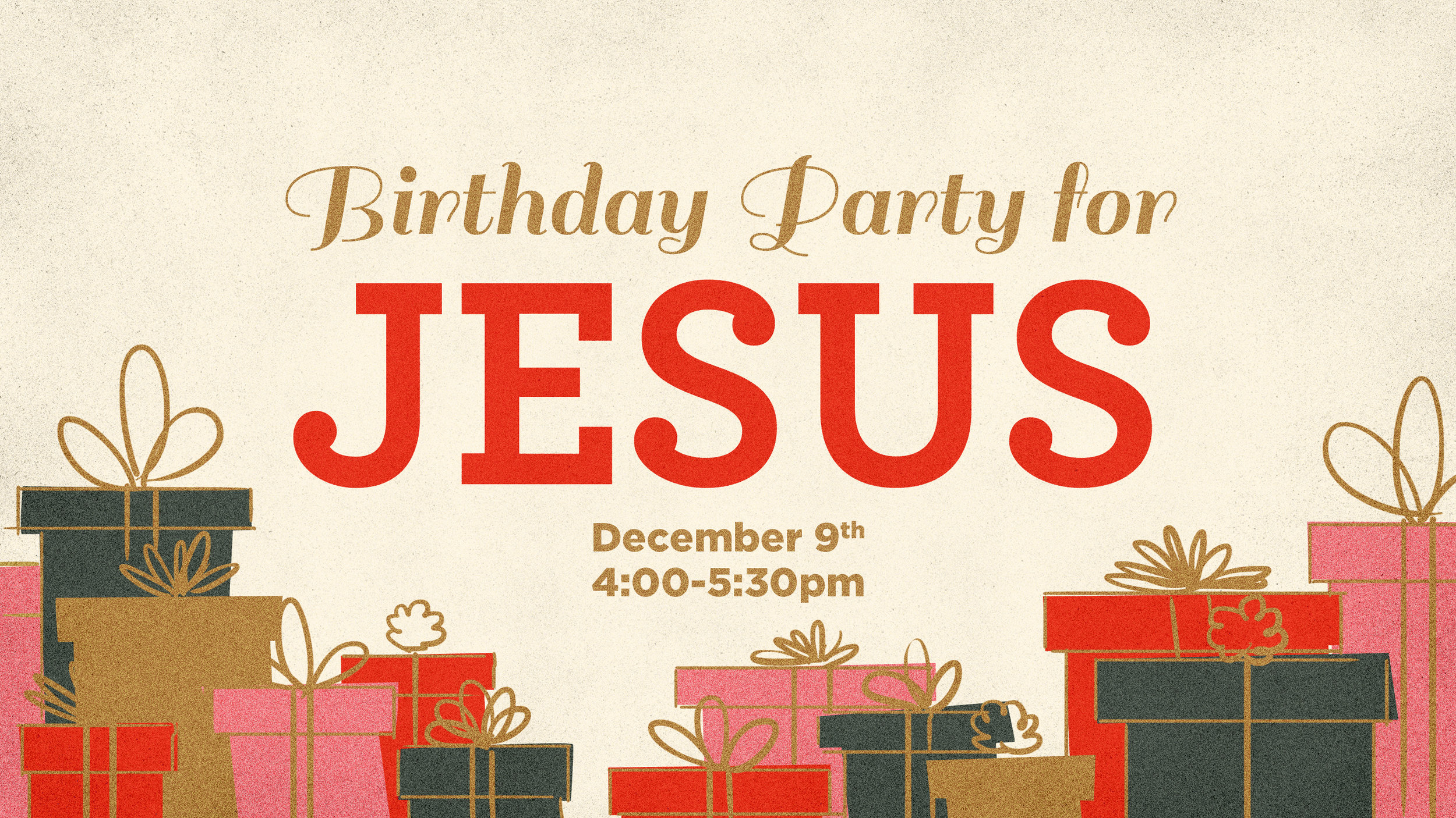 Birthday Party For Jesus Freedom Church