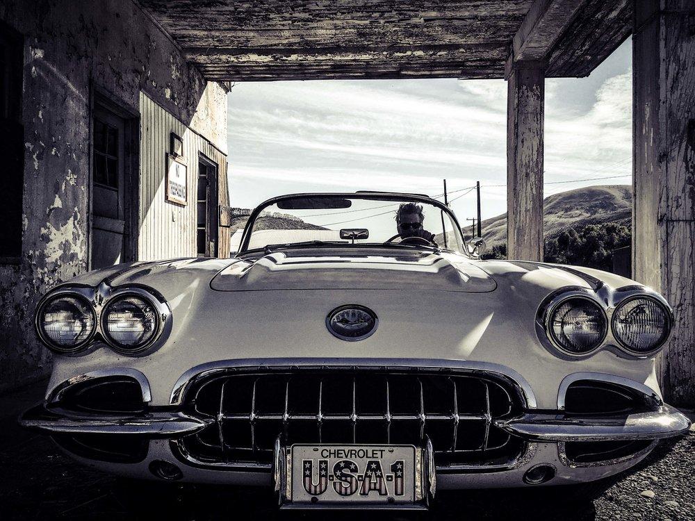 Vintage Corvette Convertible Ellensburg Kittitas