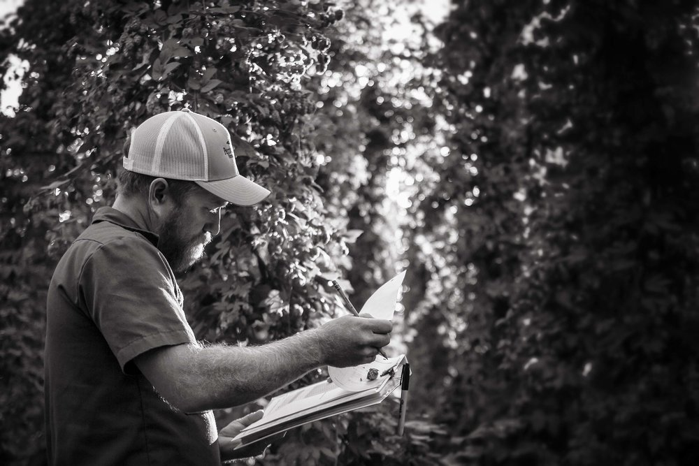 Jason Perrault Select Botanicals Group Hop Farmer Breeder