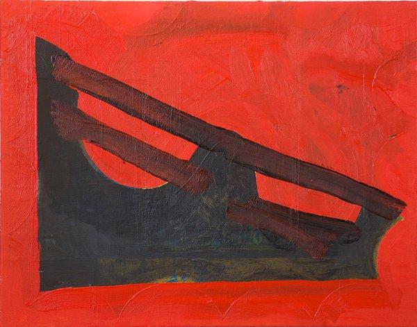 """#2702 11"""" x 14"""" Oil/Panel, 2012"""