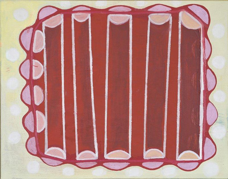 """#2607 14"""" x 11"""" Oil/Panel, 2010"""